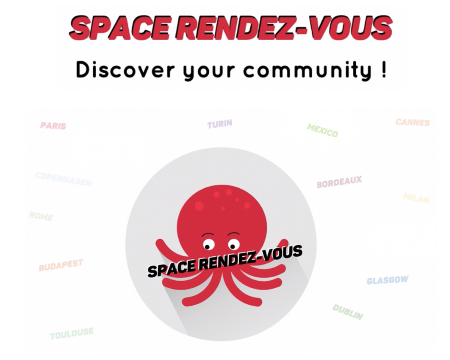 Design D Espace Toulouse welcome - spaceup france