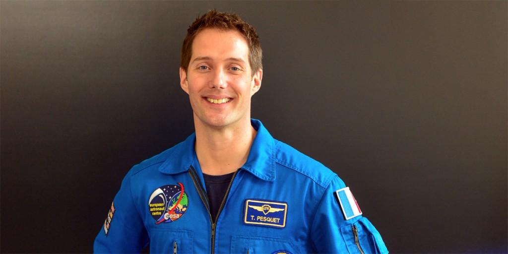 L'astronaute de l'ESA Thomas Pesquet