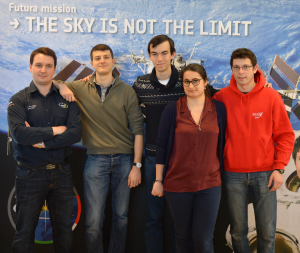 Part of the team SpaceUp France, organizer of SpaceUpX in November, at SpaceUp Cologne in March 2015